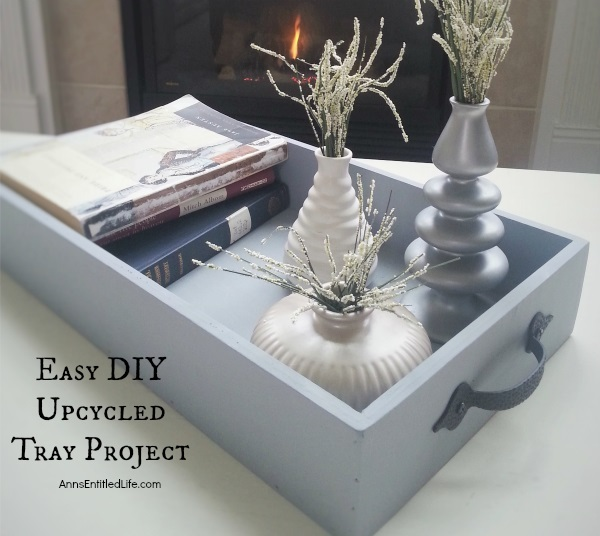 Easy DIY Upcycled Tray Project
