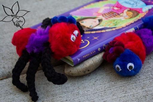 Critter Bookmarks & Puppet Pals!