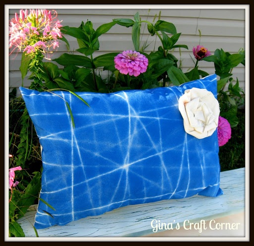 Custom Design a Pillow with String and Paint