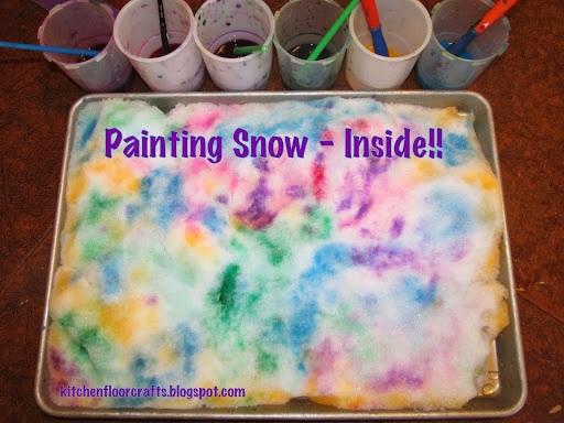 Painting Snow Inside!