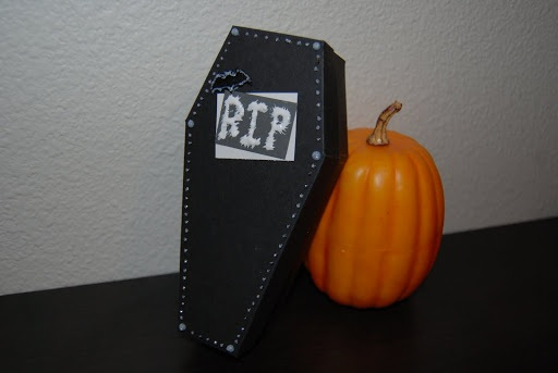 Nap Time Crafts Paper Coffin