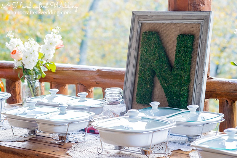 How to Frame a Moss Covered Letter