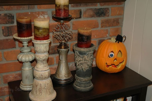Halloween wreath, cheesecloth ghosts & more