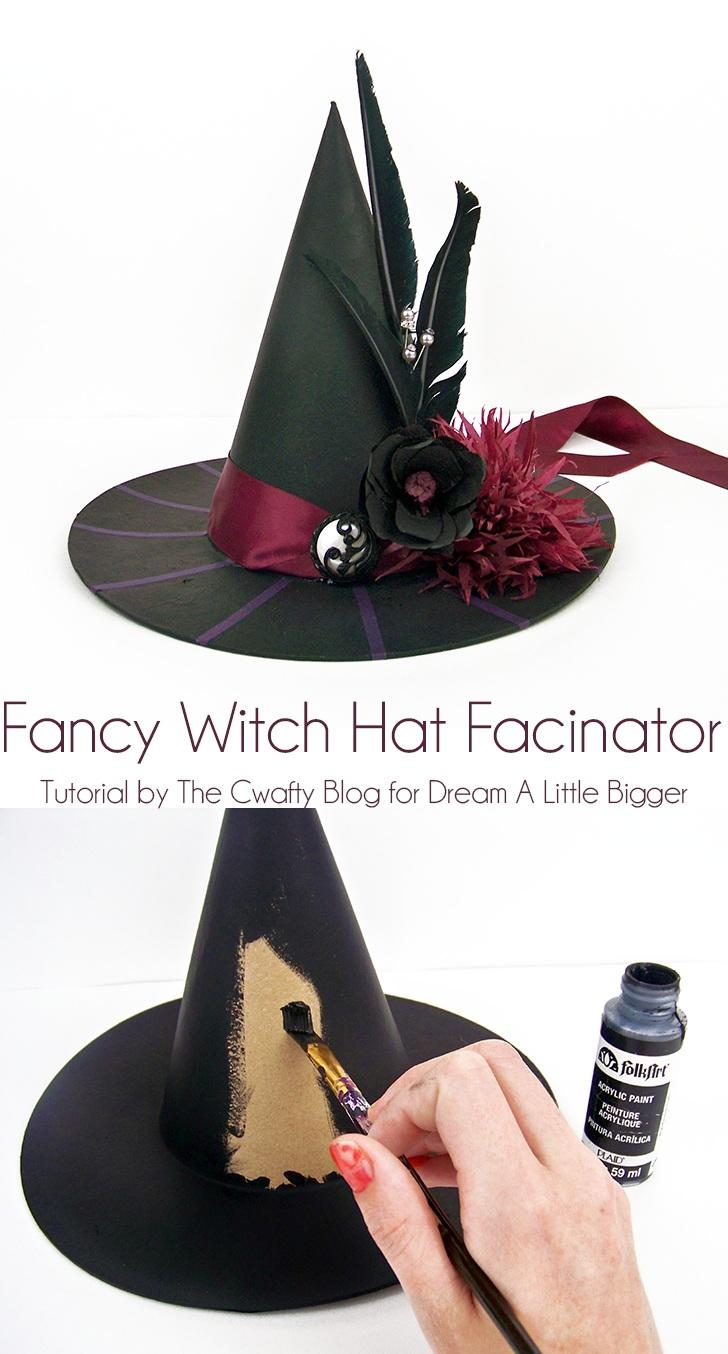 Witch Hat Facinator