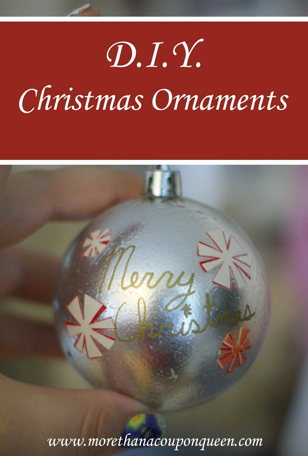 D.I.Y. Christmas Ornaments