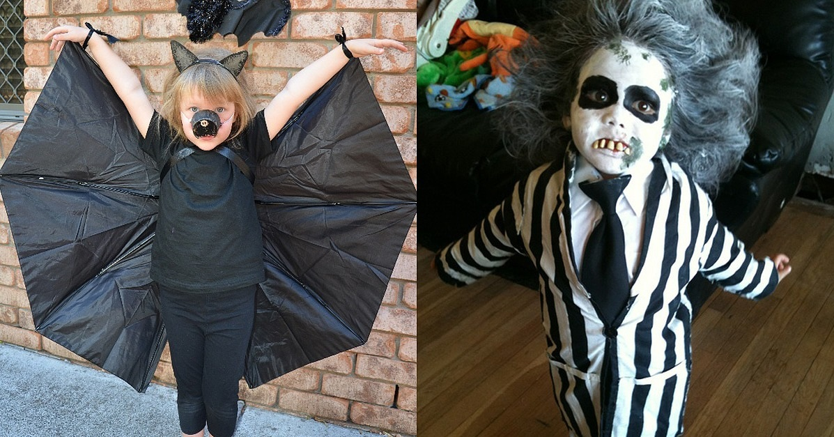 21 DIY Kids' Halloween Costumes Recycled From Things You Already Have