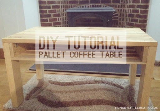 DIY Tutorial Pallet Coffee Table