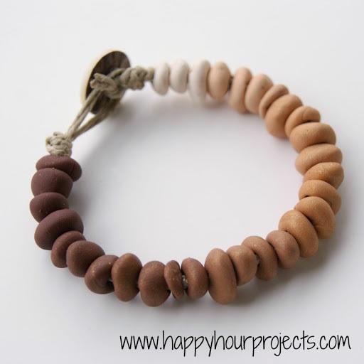 Ombre Clay Bracelet