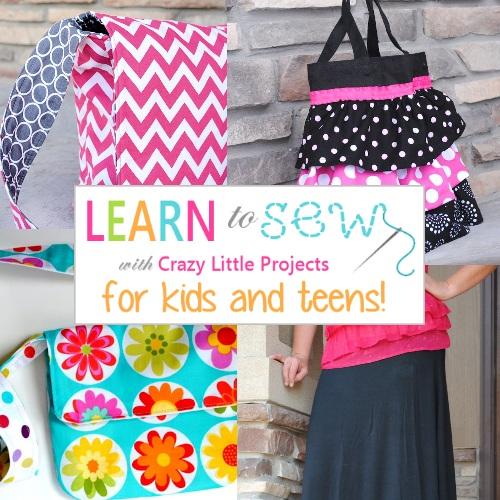 Learn to Sew Kids Zipper
