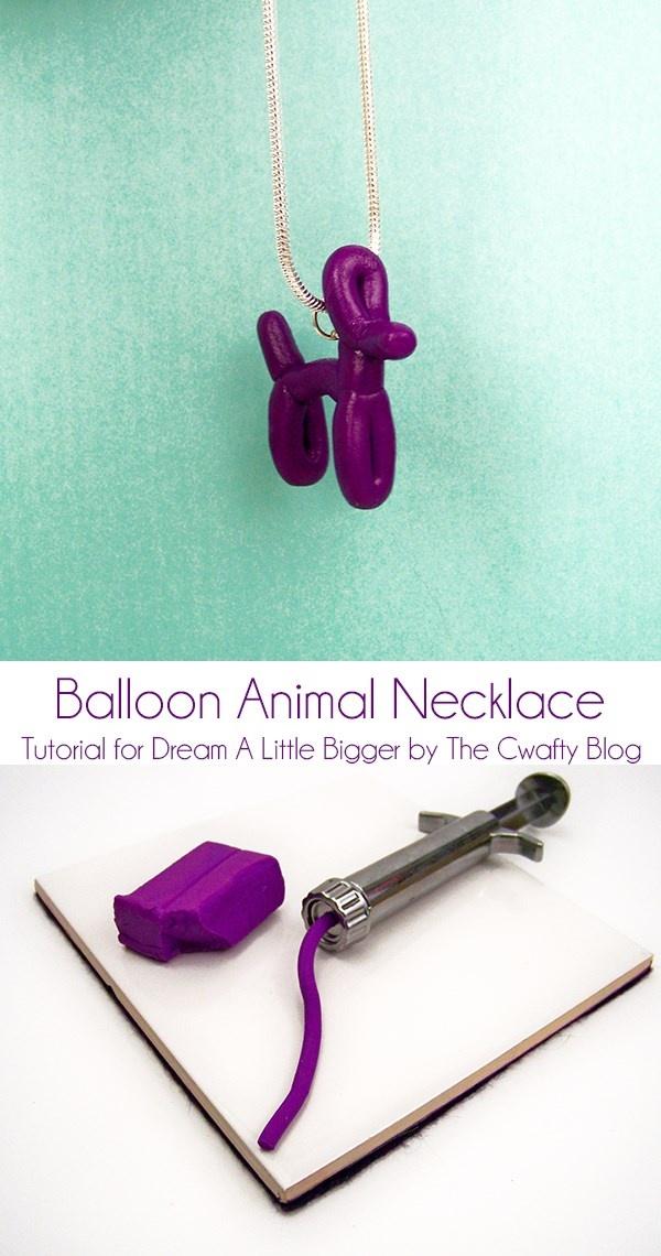 Balloon Animal Necklace