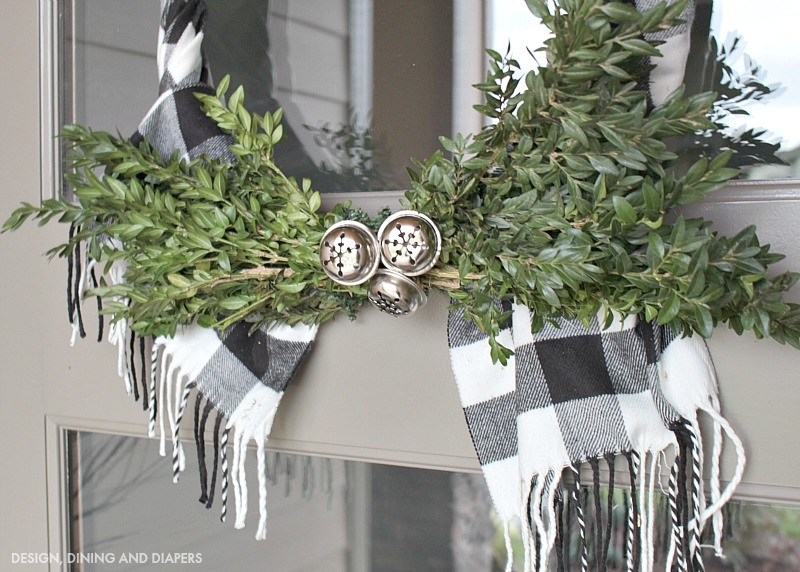Buffalo Check Wreath Design, Dining + Diapers
