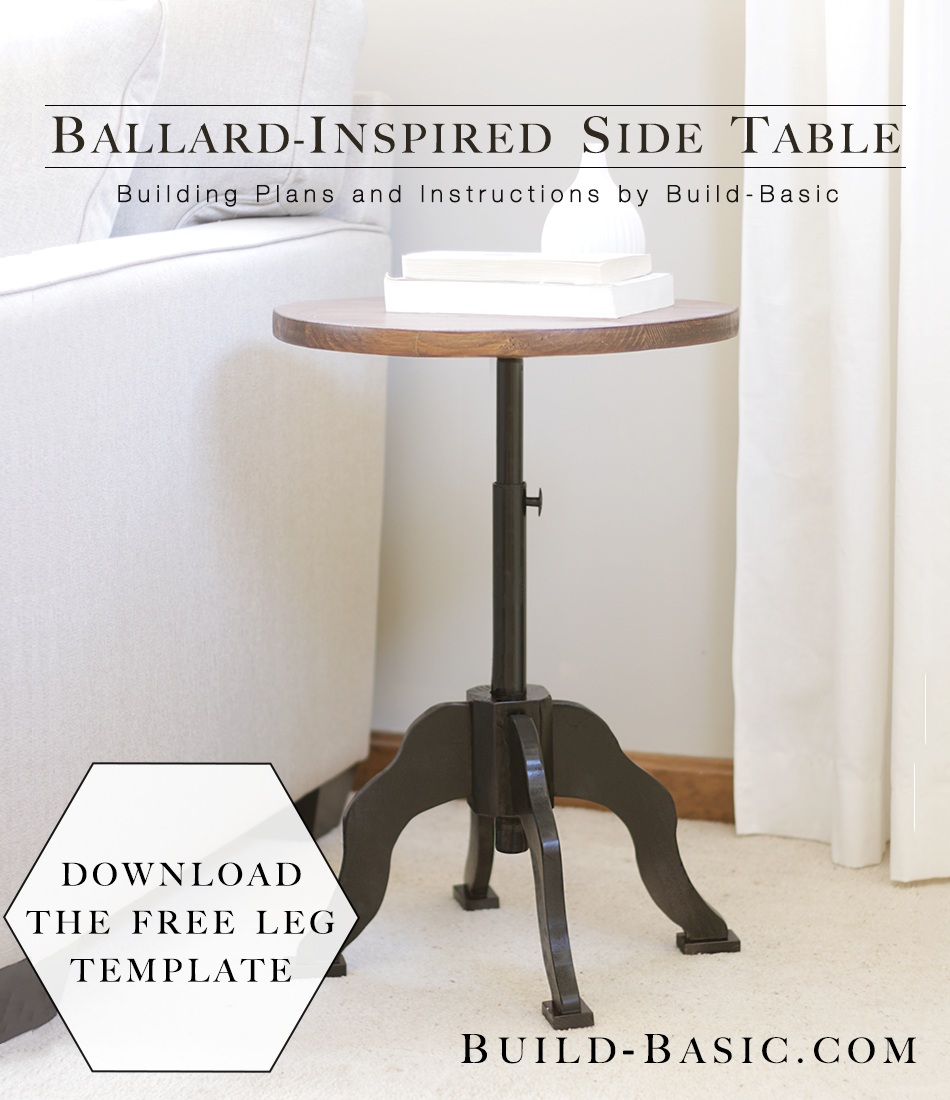Ballard Inspired Side Table