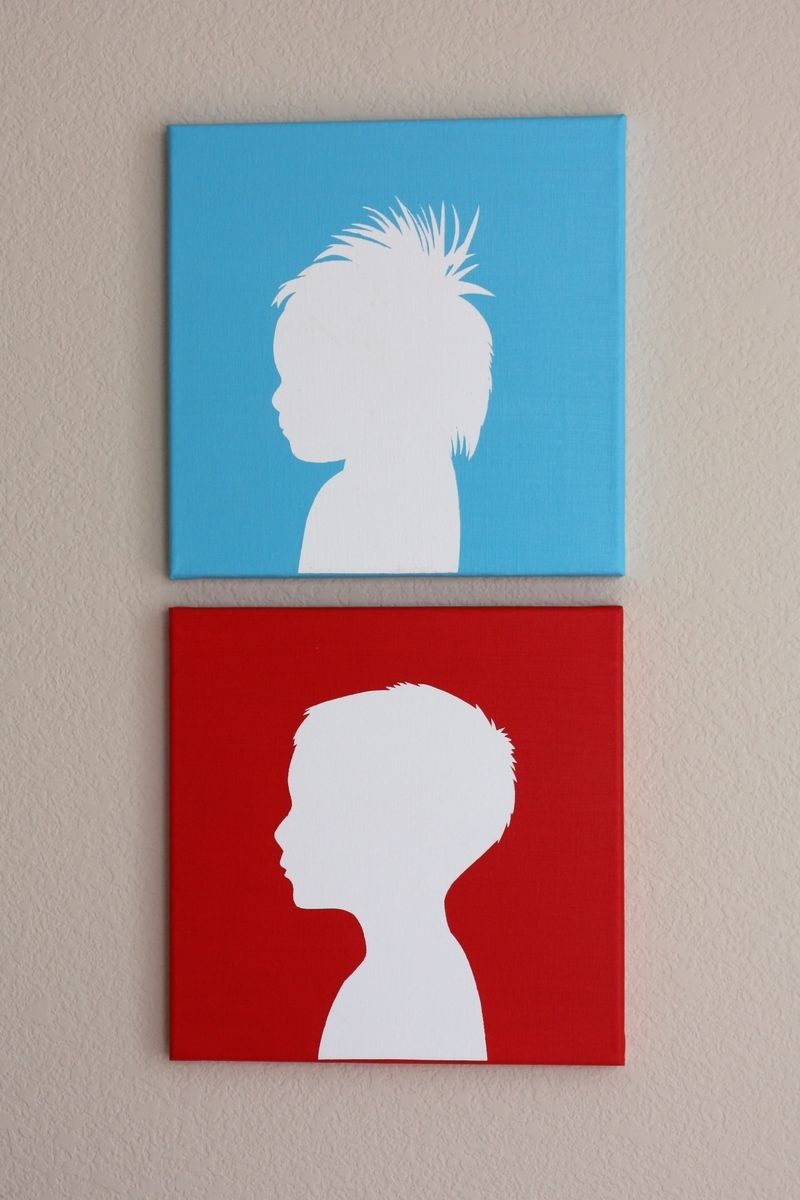 Canvas Silhouettes Honest to Nod
