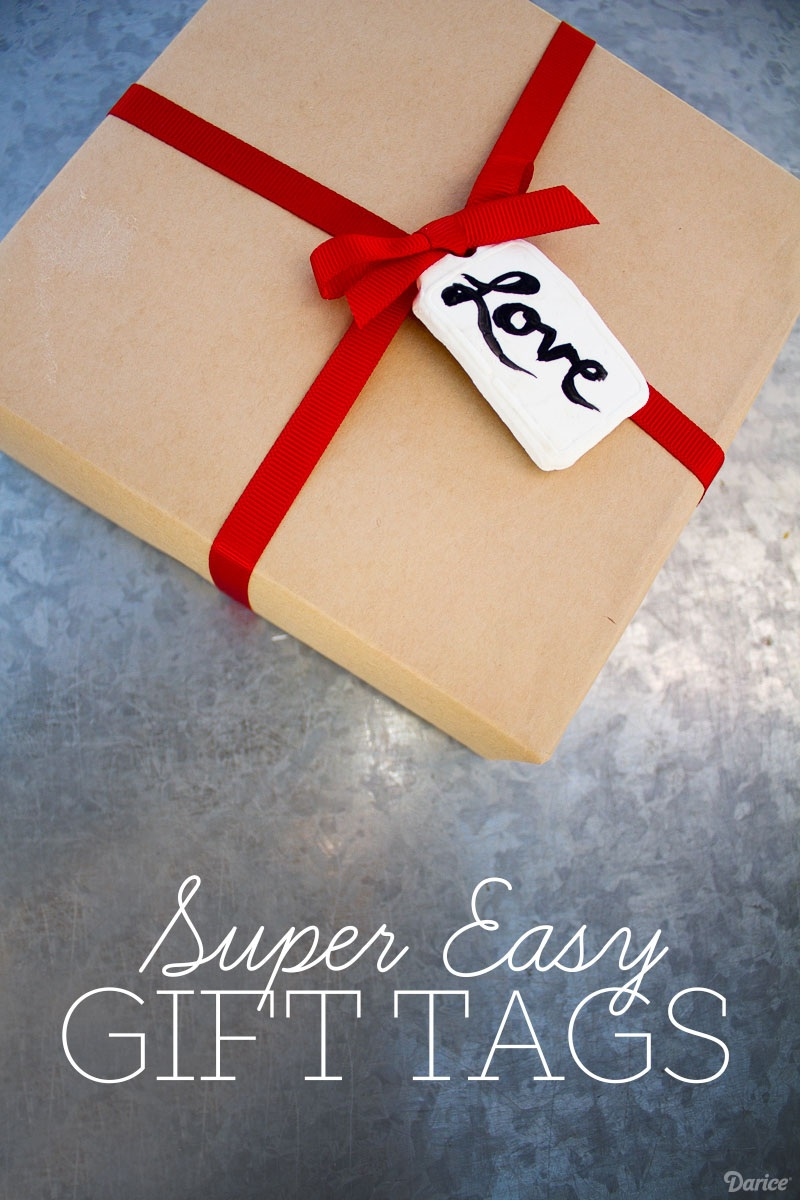DIY Gift tags Super Easy Clay Project