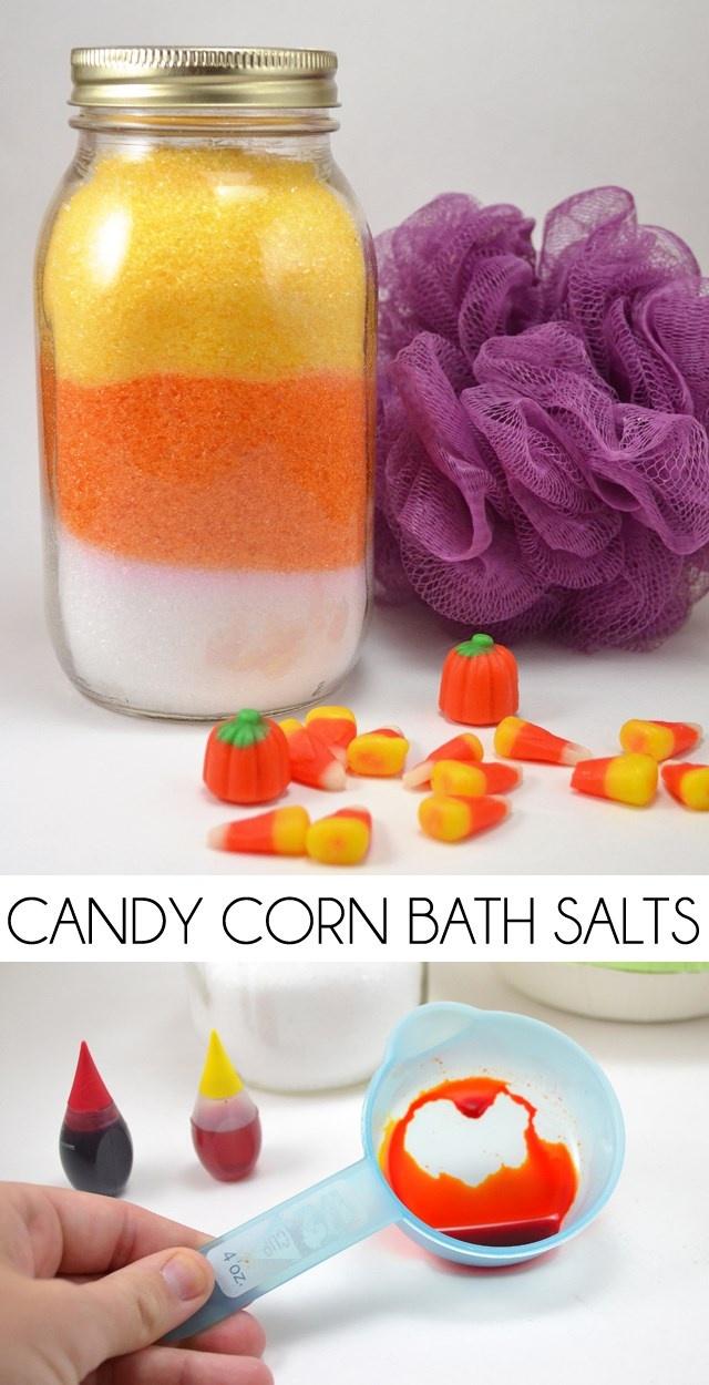 Candy Corn Bath Salts