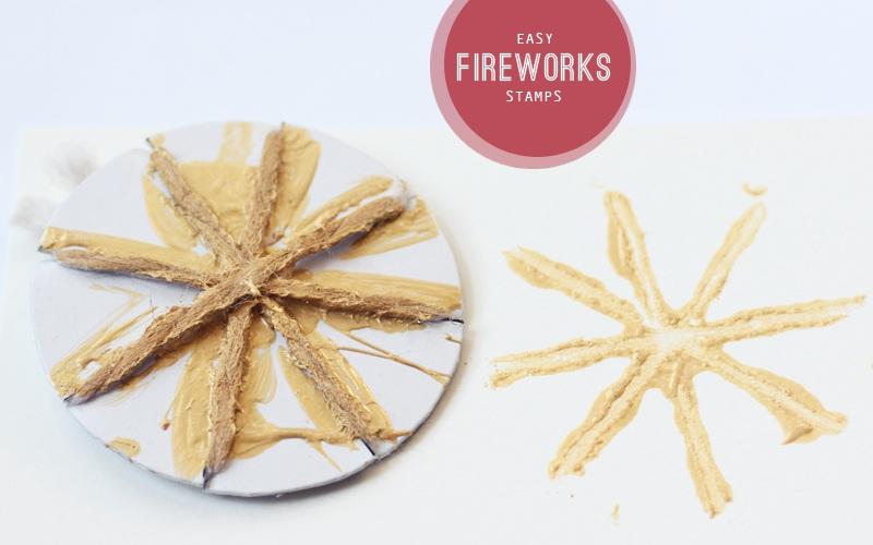 Easy Fireworks Stamps Honest to Nod