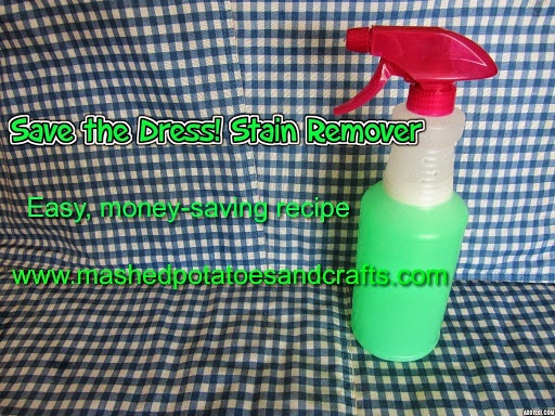 Save the Dress! Stain Remover