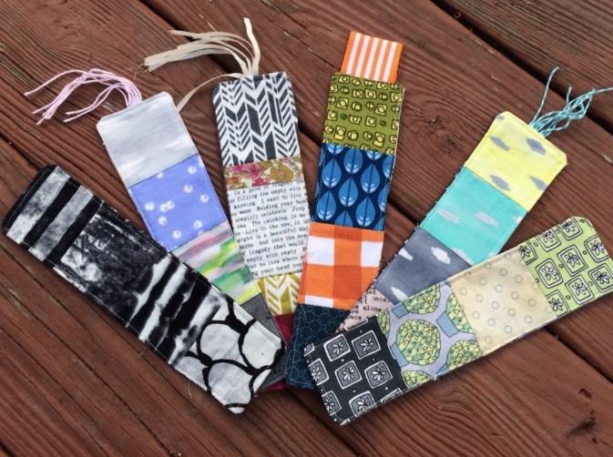 Fabric Bookmark Tutorial Handmade Holidays