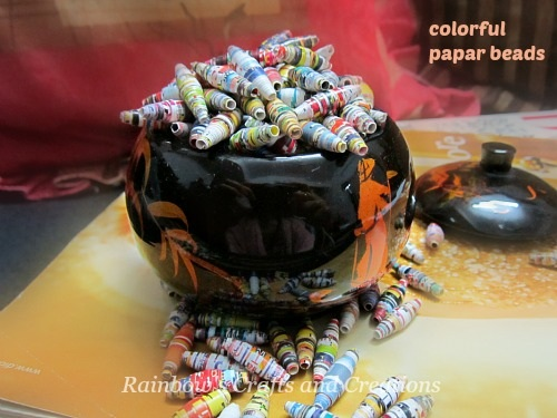 Rainbow's Crafts and Creations How to Make a Paper Bead