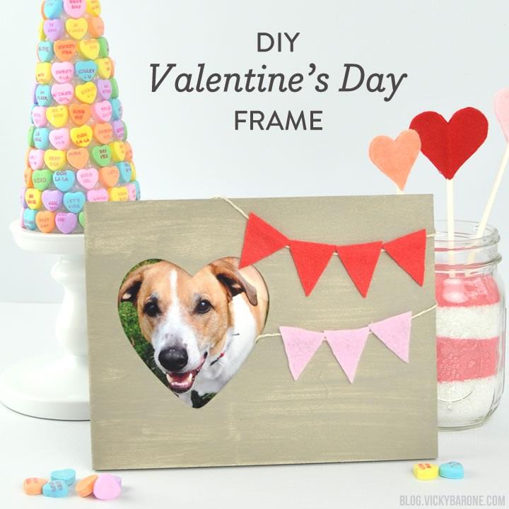 DIY Valentine's Day Frame