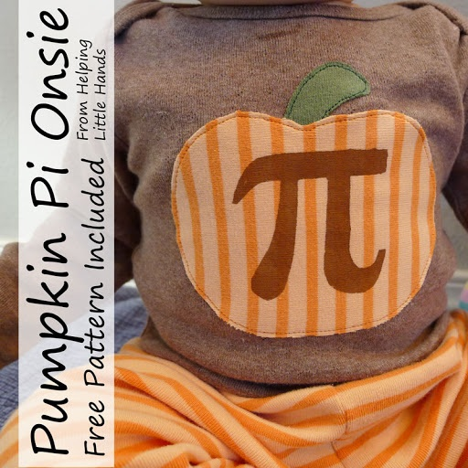 Pumpkin Pi Onesie