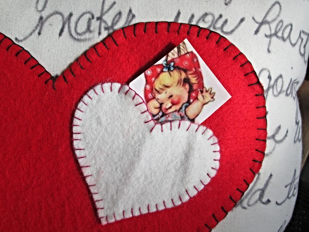 Valentine Pillow Tutorial To Warm Your Heart