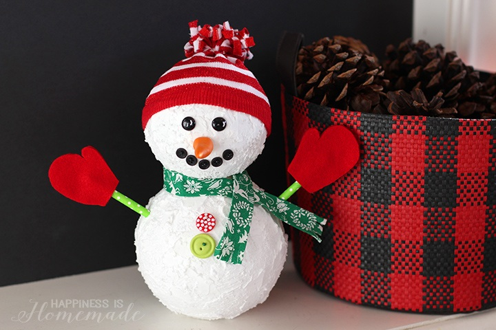 Christmas Snowman Holiday Decoration
