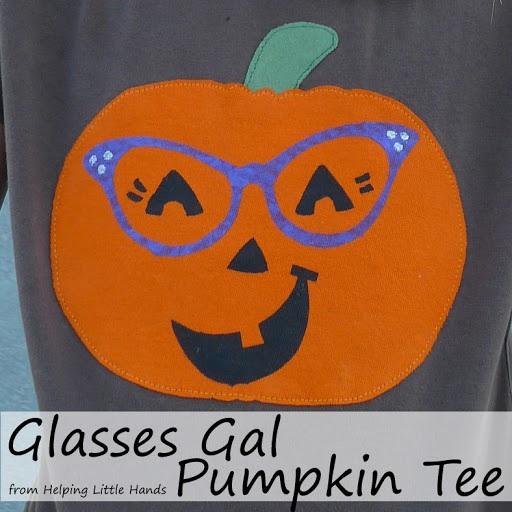 Glasses Gal Pumpkin Tee KCWC Day 3