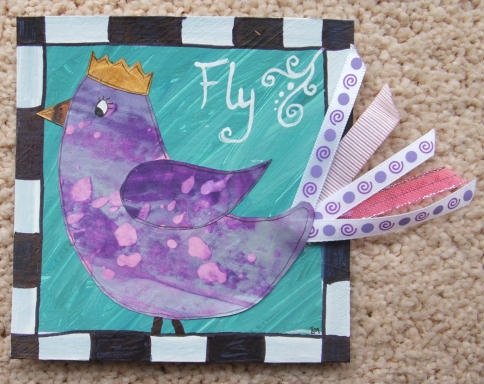 Let's Get Messy! Chunky Bird Book and Some ATCs