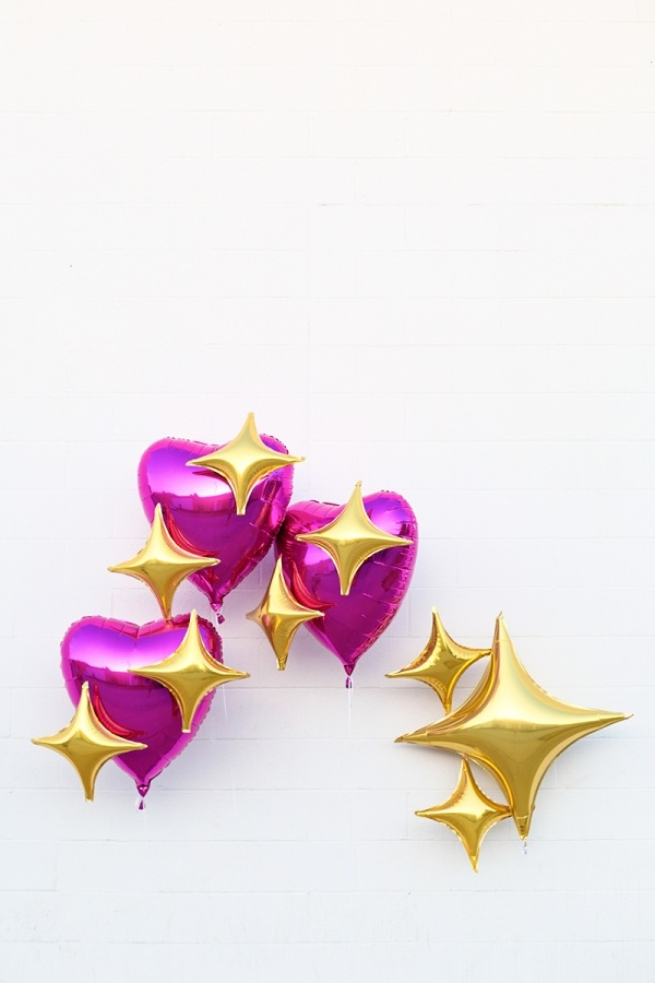 Diy emoji heart balloons craftsmile - How to make heart balloon ...