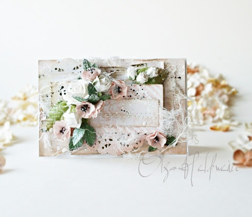 Soft Card in Pinks