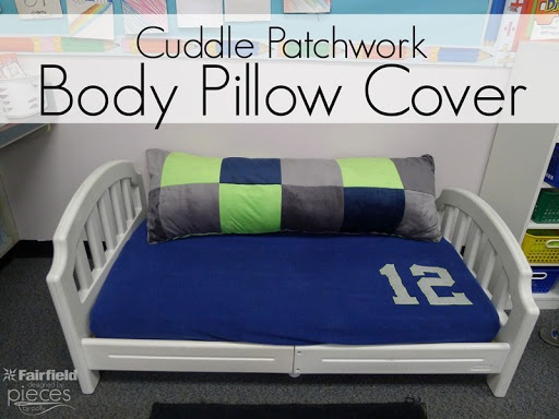 Cuddle Patchwork Body Pillow Cover Seahawks Patchwork Pillow