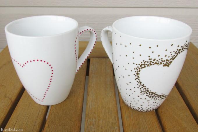DIY Craft Project: Sharpie Mug Tutorial