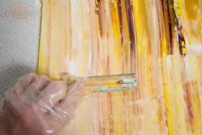 DIY Abstract Oil Painting