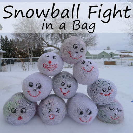 Tutorial Snowball Fight in a Bag