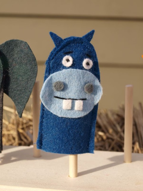By Hook & Thread finger puppets