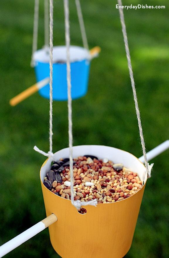 Easy Homemade Bird Feeder Kids Craft Craftsmile