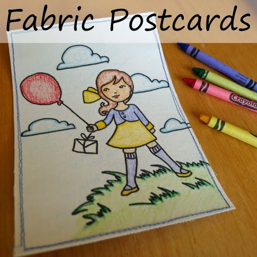 Fabric Post Cards