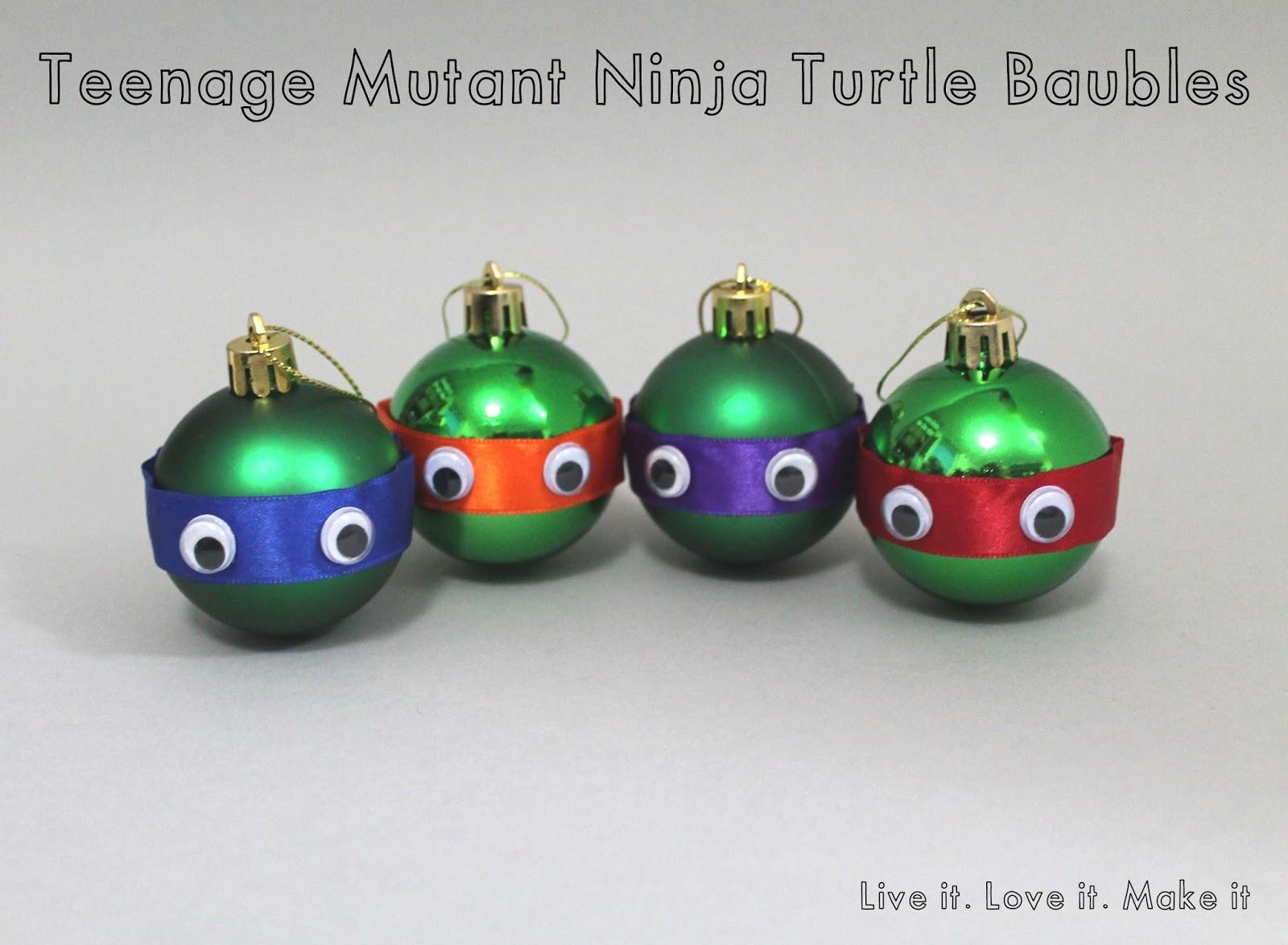 Teenage Mutant Ninja Turtle Baubles
