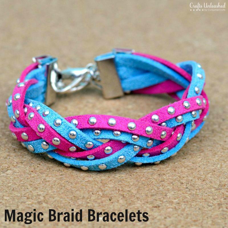 DIY Bracelets Two Ways: How to Make the Magic Braid