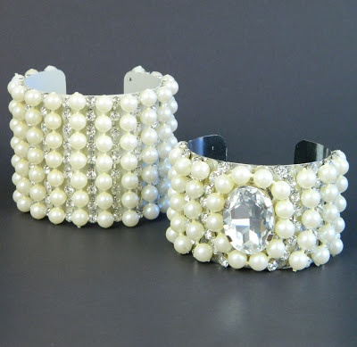 Vintage Chanel Inspired Cuffs DIY