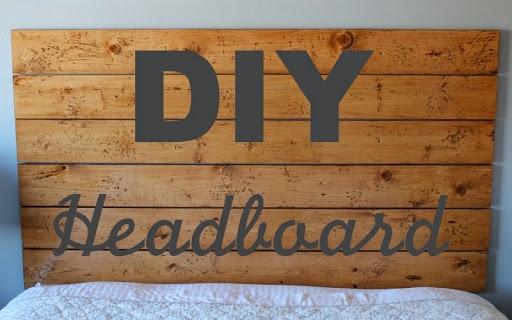 A DIY Headboard