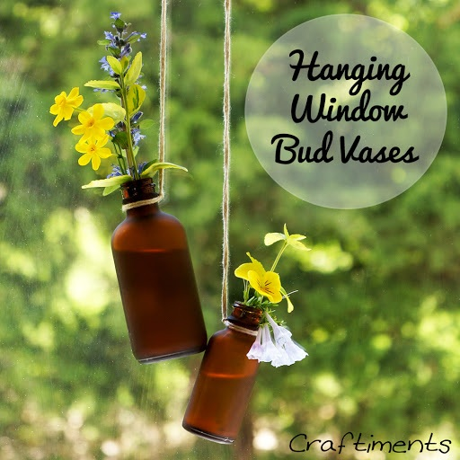 Hanging Window Bud Vases