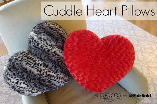 Cuddle Heart Pillows