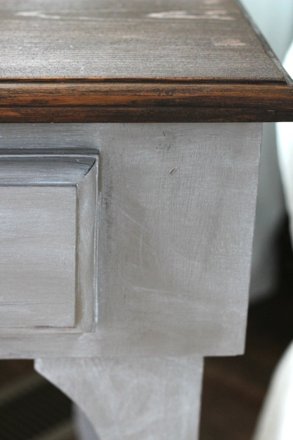 Curvy Little Side Table Makeover