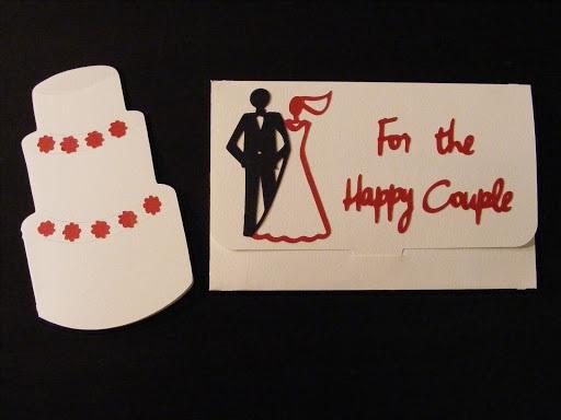 Wedding Money Holder & Card