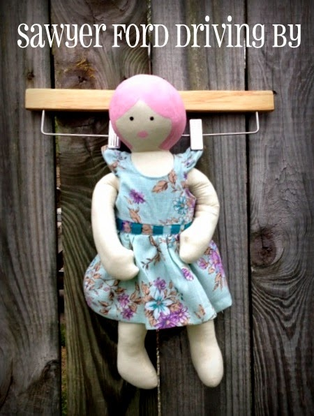 Lily's Doll and Doll Dress