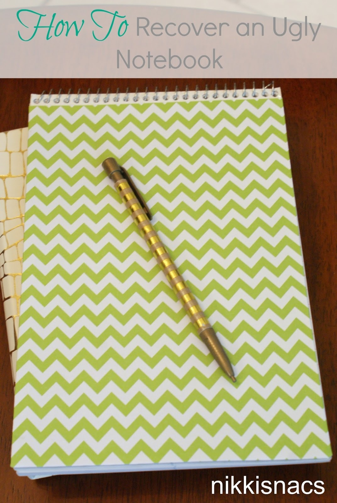 How To Recover an Ugly Notebook