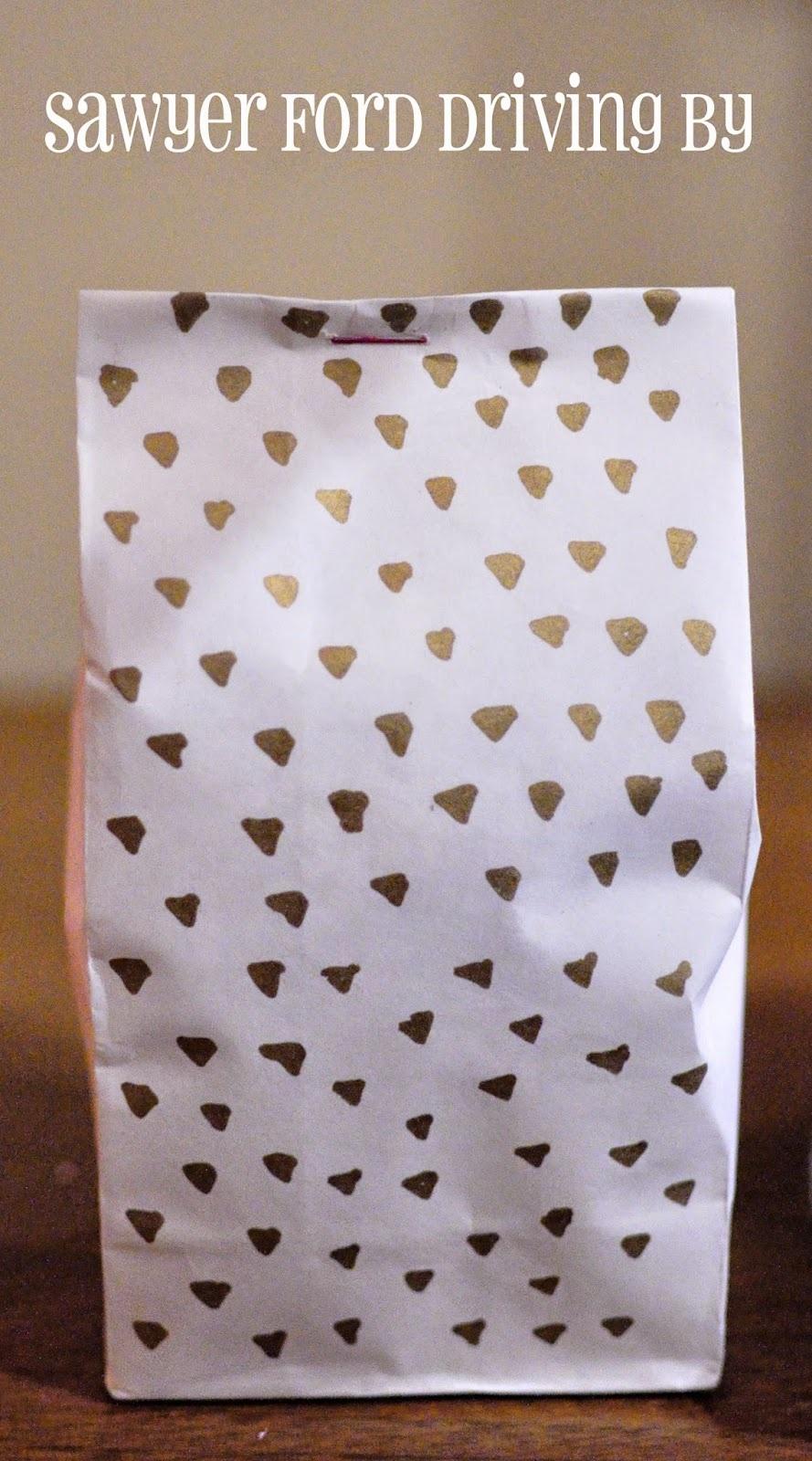 Easy Fancy Gift Bags
