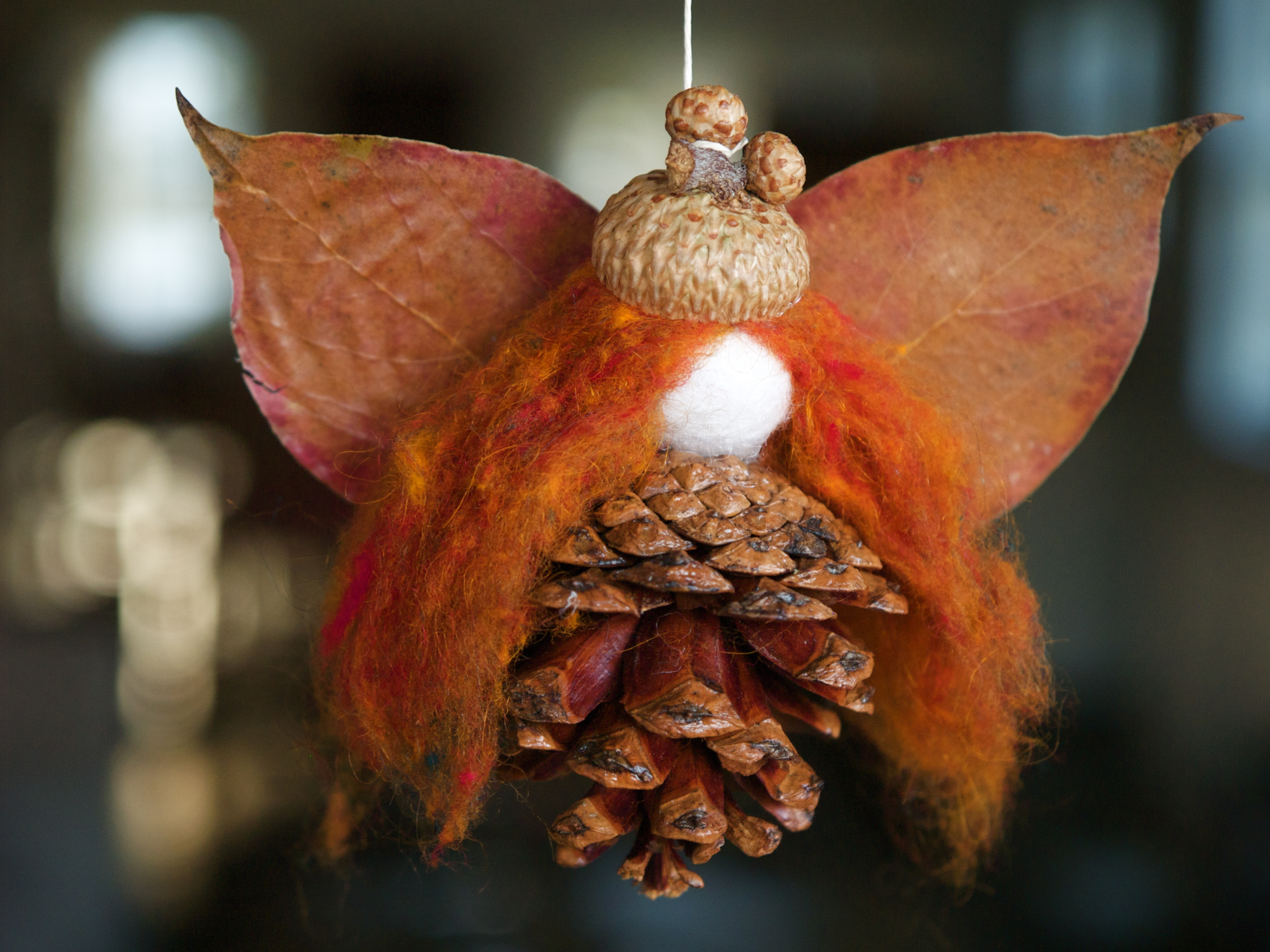 Let's Make An Autumn Fairy From Natural Materials - The Magic Onions